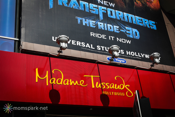 Madame Tussauds Sign
