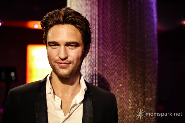 Robert Pattinson Wax Figure Madame Tussauds Hollywood
