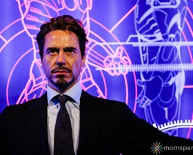 Tony Stark Wax Museum