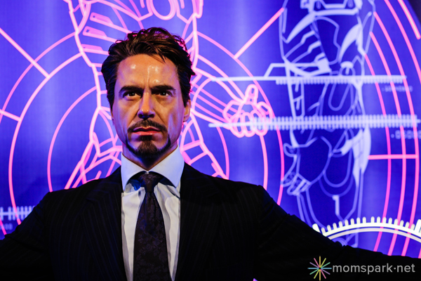 Tony Stark Wax Figure Madame Tussauds Hollywood