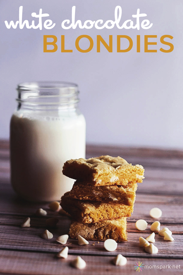 White Chocolate Blondies Recipe