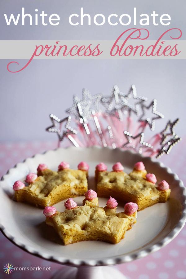 White Chocolate Princess Blondies Recipe