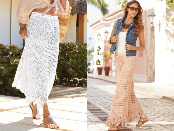 bohemian skirt fashion