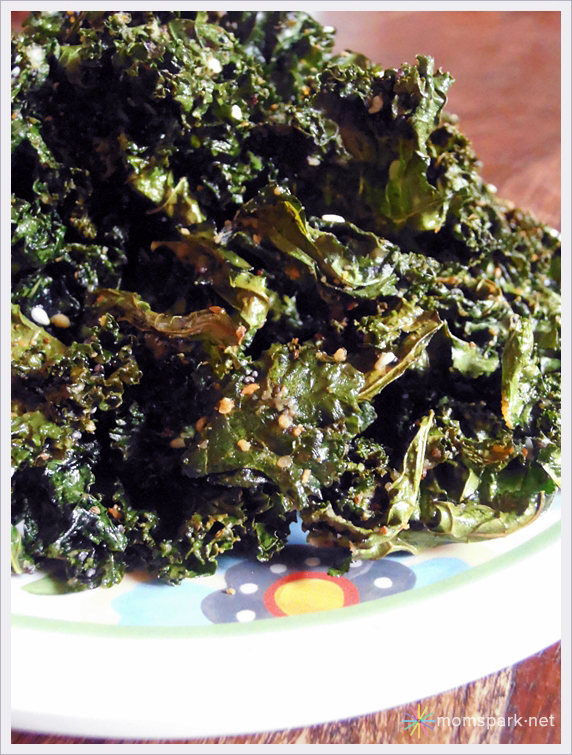 "Crispy ""Everything"" Kale Chips Recipe"