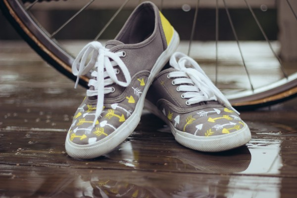DIY Custom Sneaks Shoe Makeover