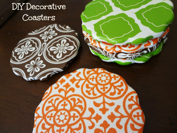 Mod Podge DIY-Decorative-Coasters Craft