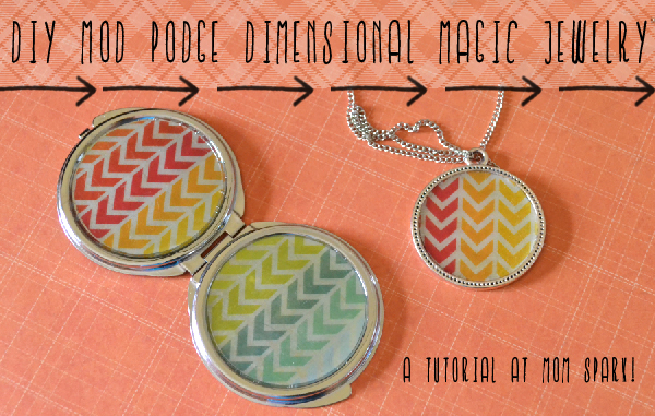 Mod Podge dimensional-magic-jewelry-craft