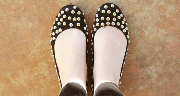 Punk Inspired Stud Flats