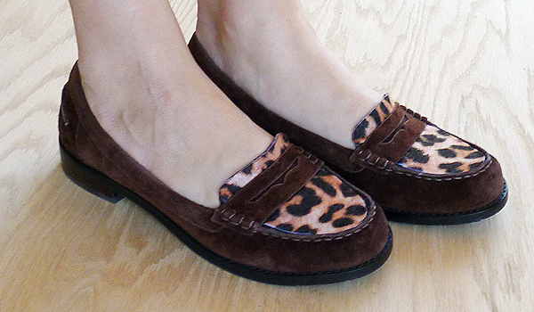 Top Cat Suede Loafers Shoe Makeover