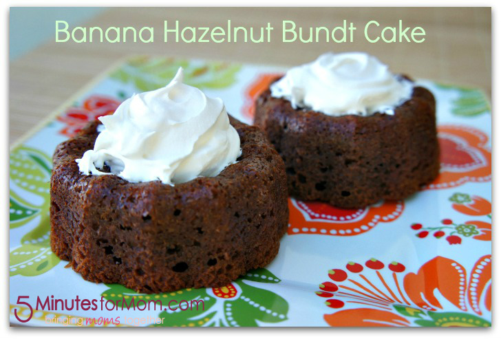 Banana Hazelnut Bundt Cake Recipe