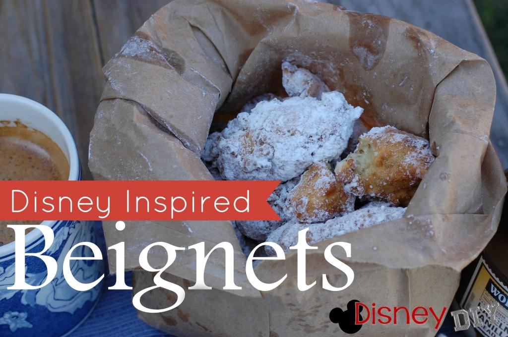 Disney Inspired Nutella Beignets