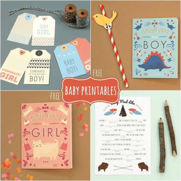 Free Baby Printables