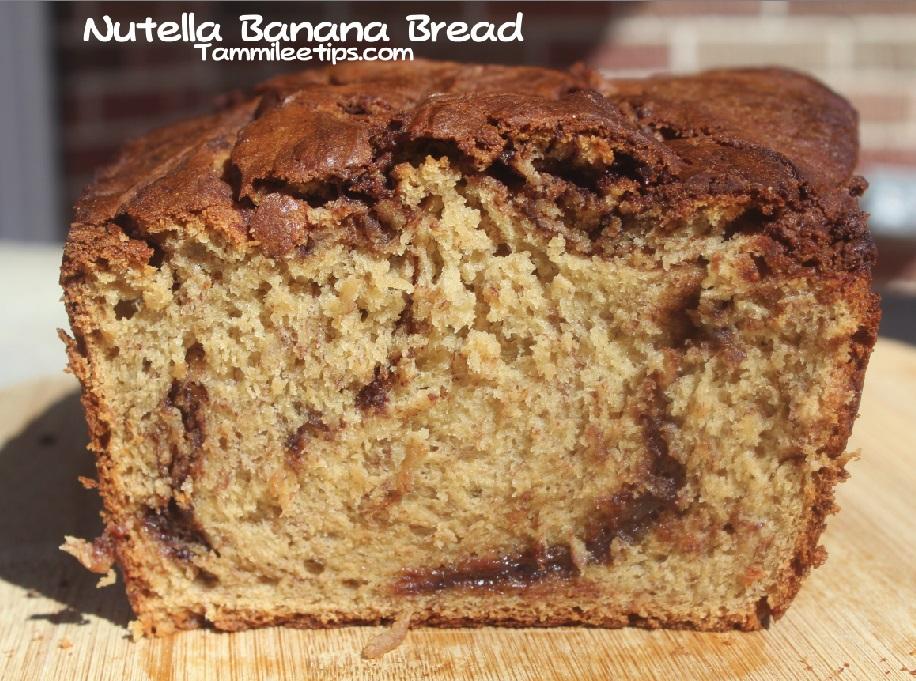 Nutella Banana Bread Recipe