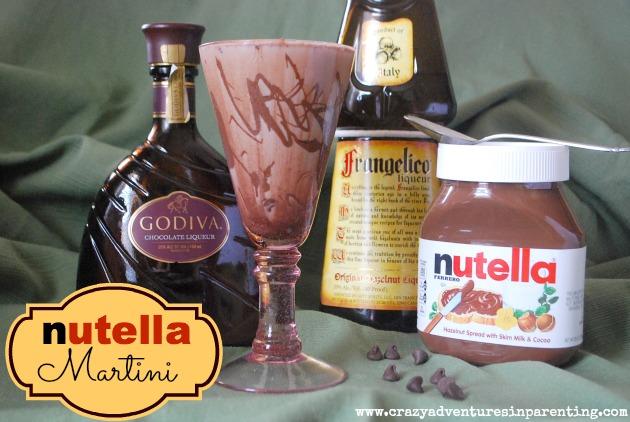 Nutella Martini Recipe