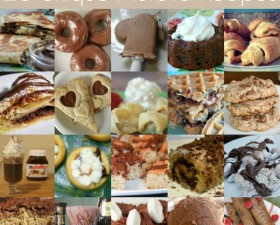 Nutella Recipe Collage