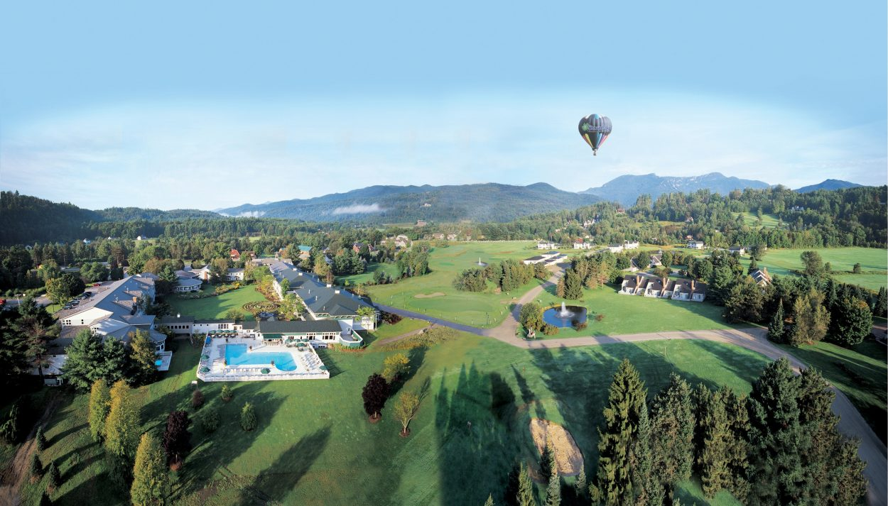 Stoweflake Mountain Resort Balloon