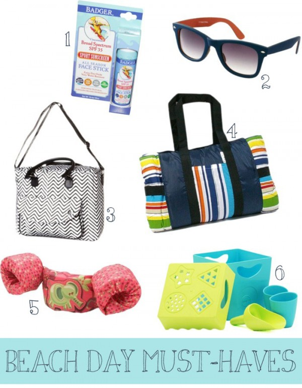 Cool Finds: 6 Beach Day Must-Haves