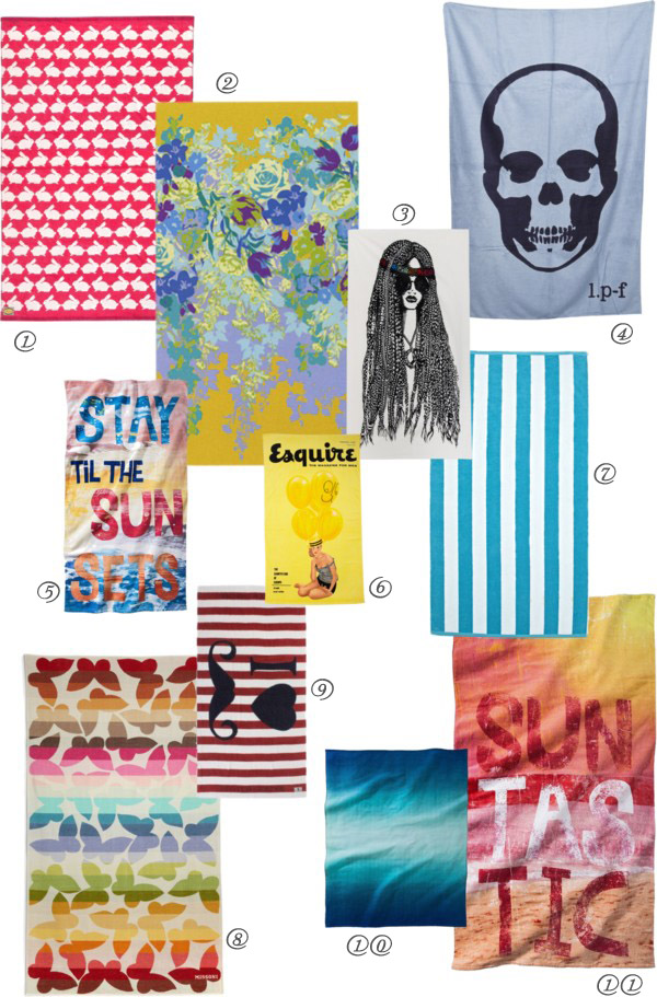 Cool Finds: Breathtaking Beach Towels