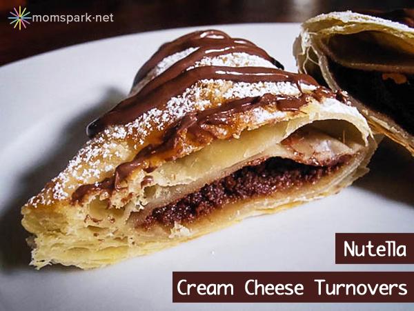 Nutella Cream Cheese Turnover Recipe