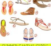 summer sandal style