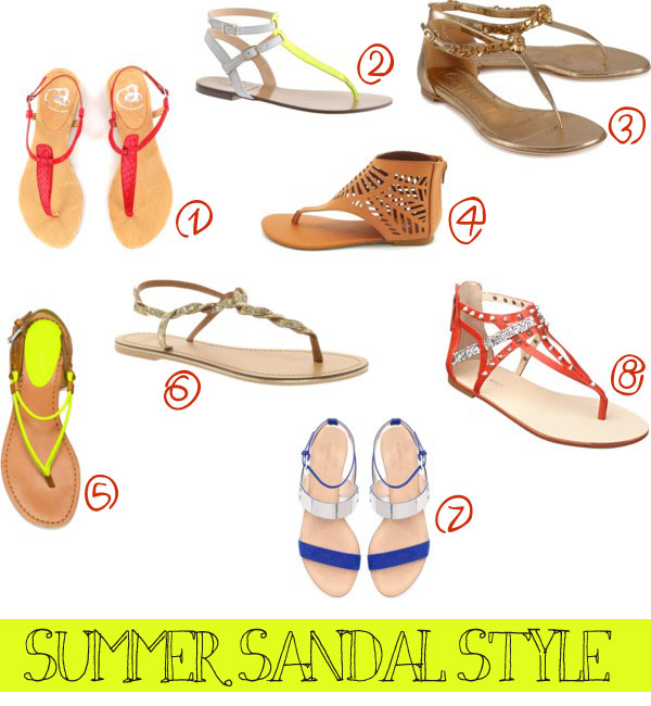 Fashion Friday: 8 Great Summer Sandals
