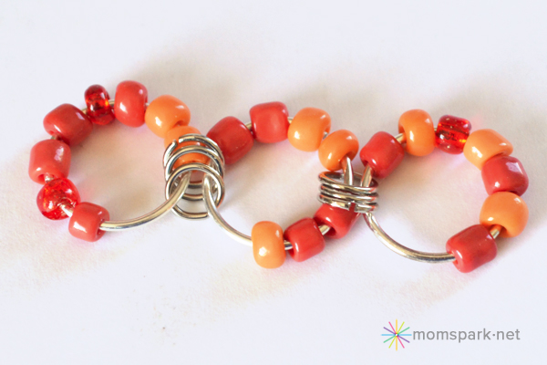Beaded Jumbo Jump Chain Bracelet Tutorial