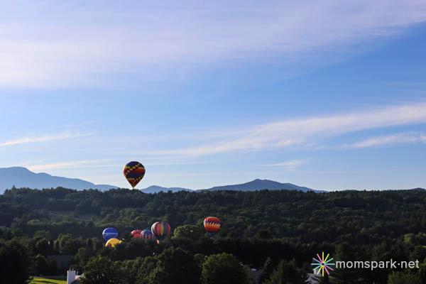 Stoweflake Hot Air Balloon Festival