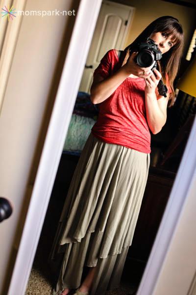 Free People Layered Maxi Skirt copy