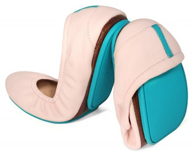 Tieks are foldable