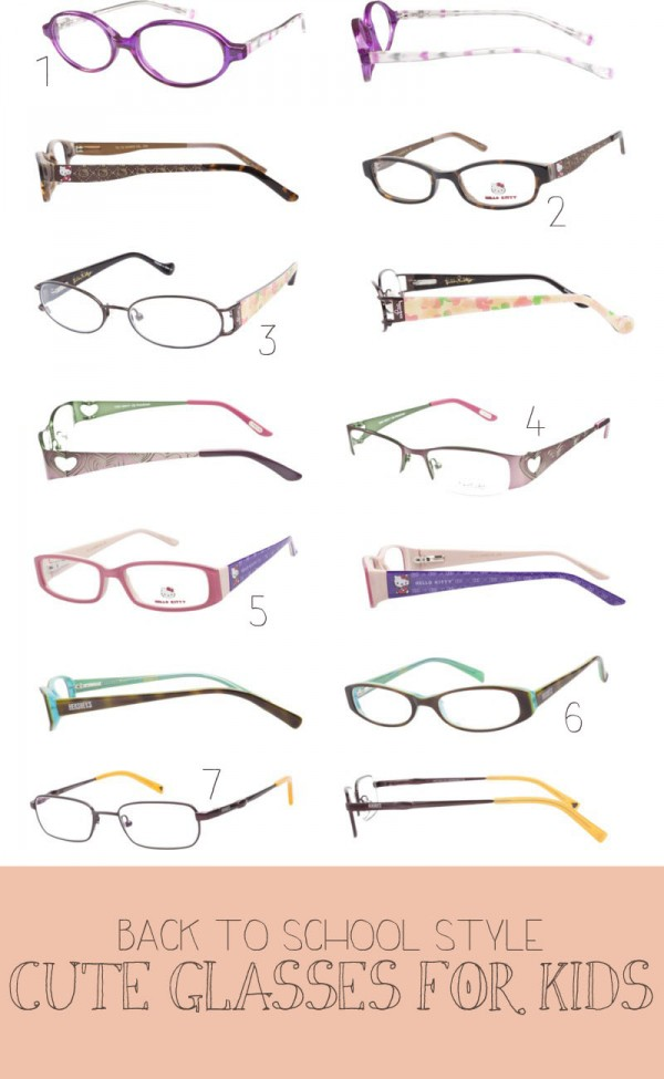 Fashion Friday: Cute Glasses For Kids