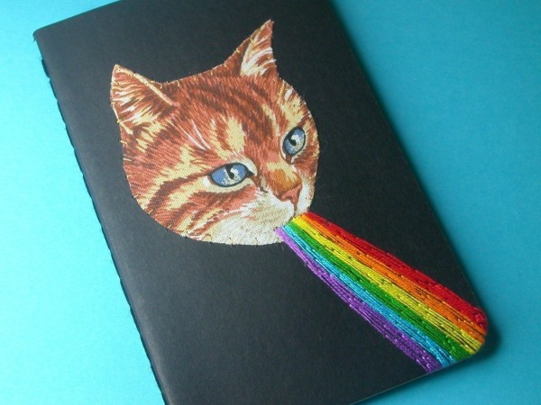 Cool Finds: 8 Etsy Cat Journals
