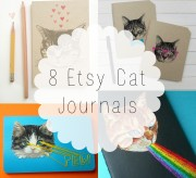 etsy cat journals