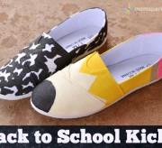 Pencil & Composition Book Shoes Tutorial