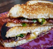 Loaded Baked Potato Grilled Cheese Recipe