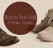 Boots For Fall