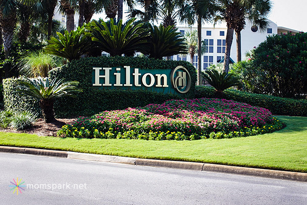 Hilton Sandestin Entrance copy