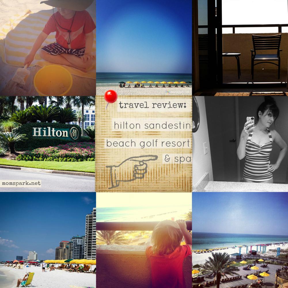 Hilton Sandestin Hotel Collage