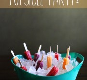 Popsicles in Ice Bucket Party