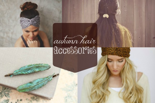 Fashion Friday: Adorable Autumn Hair Accessories
