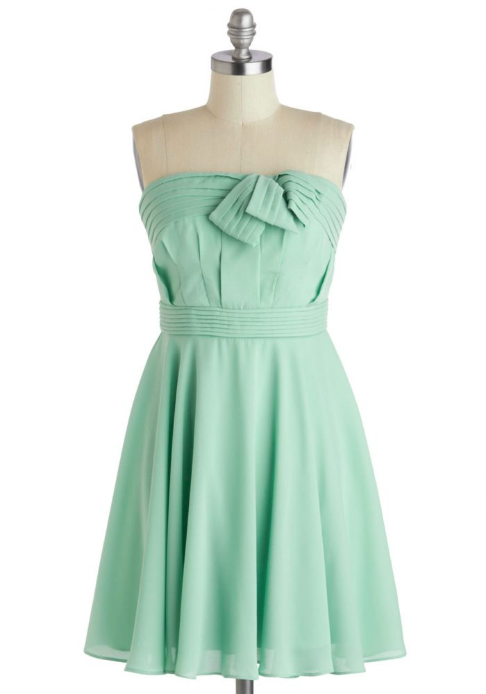 ModCloth Mint Cute Dress