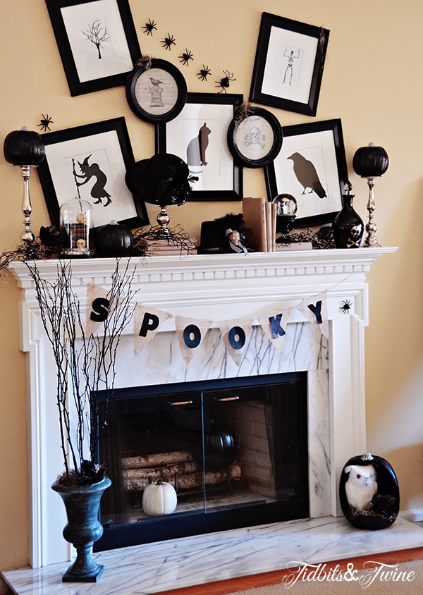 Cool Finds: Halloween Mantel Inspiration