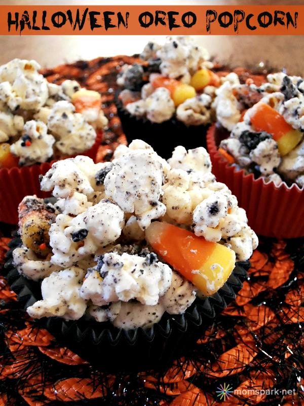 Halloween Oreo Popcorn