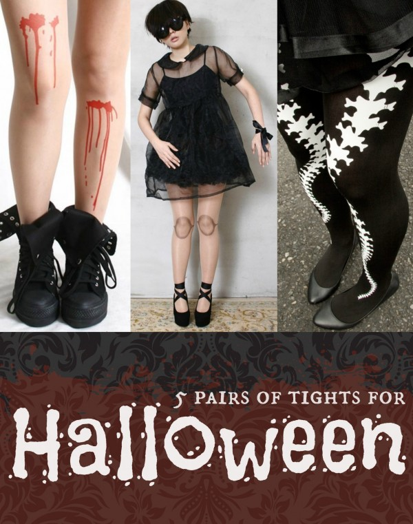 Fashion Friday: Halloween Tights!