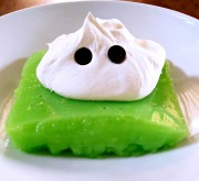 Lemon Lime Jello Ghost Slimie