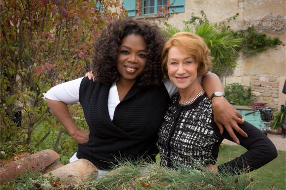 oprah and helen mirren