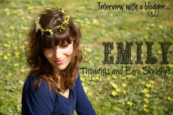Interview With A Blogger: Thoughts And Biro Sketches