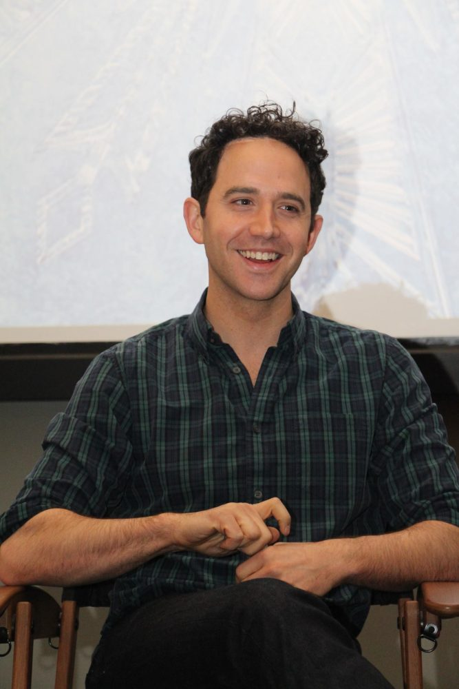 "An Interview with Santino Fontana, Voice of ""Hans"" in Disney Frozen"
