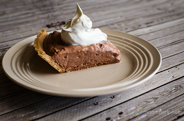 Slice of Chocolate Pie Recipe
