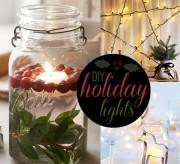 diy holiday lights