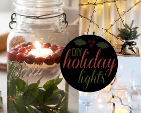 diy holiday lights
